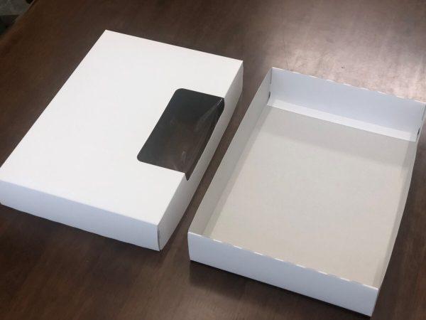 美販 紙製保管ケースの蓋を開けた状態