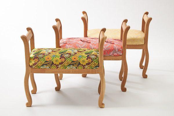 舞香花様 スツール 椅子 おしゃれ 綺麗 贈答 プレゼント 高齢者 祖父母
