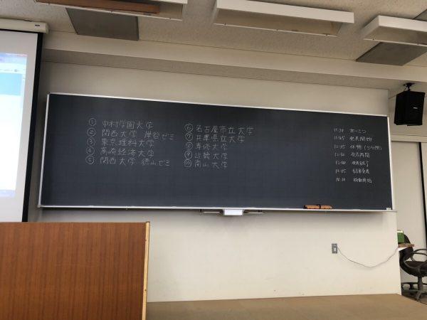 日本大学商学部砧キャンパス 冬カン
