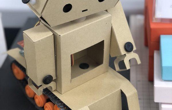 美販 段ボールでつくったロボット