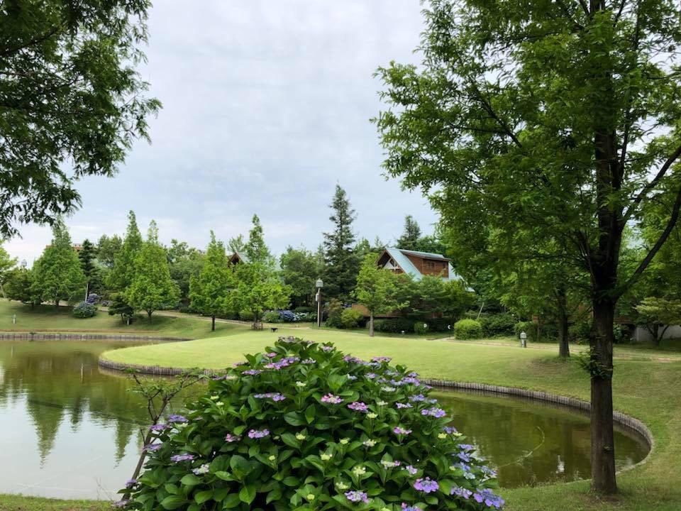 大阪リゾート ホテル・ロッジ舞洲のお庭