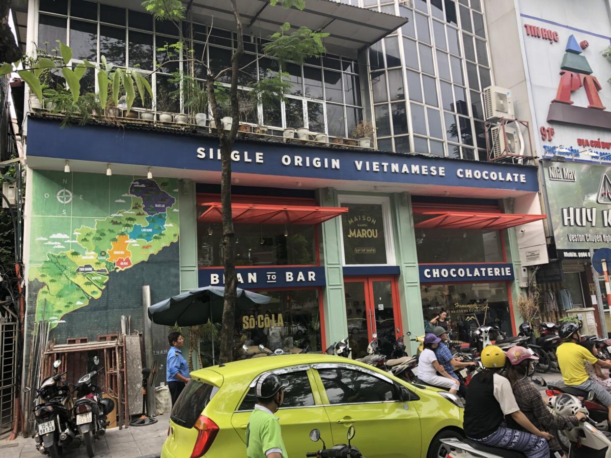 ベトナムで人気のチョコレート店「MAROU」