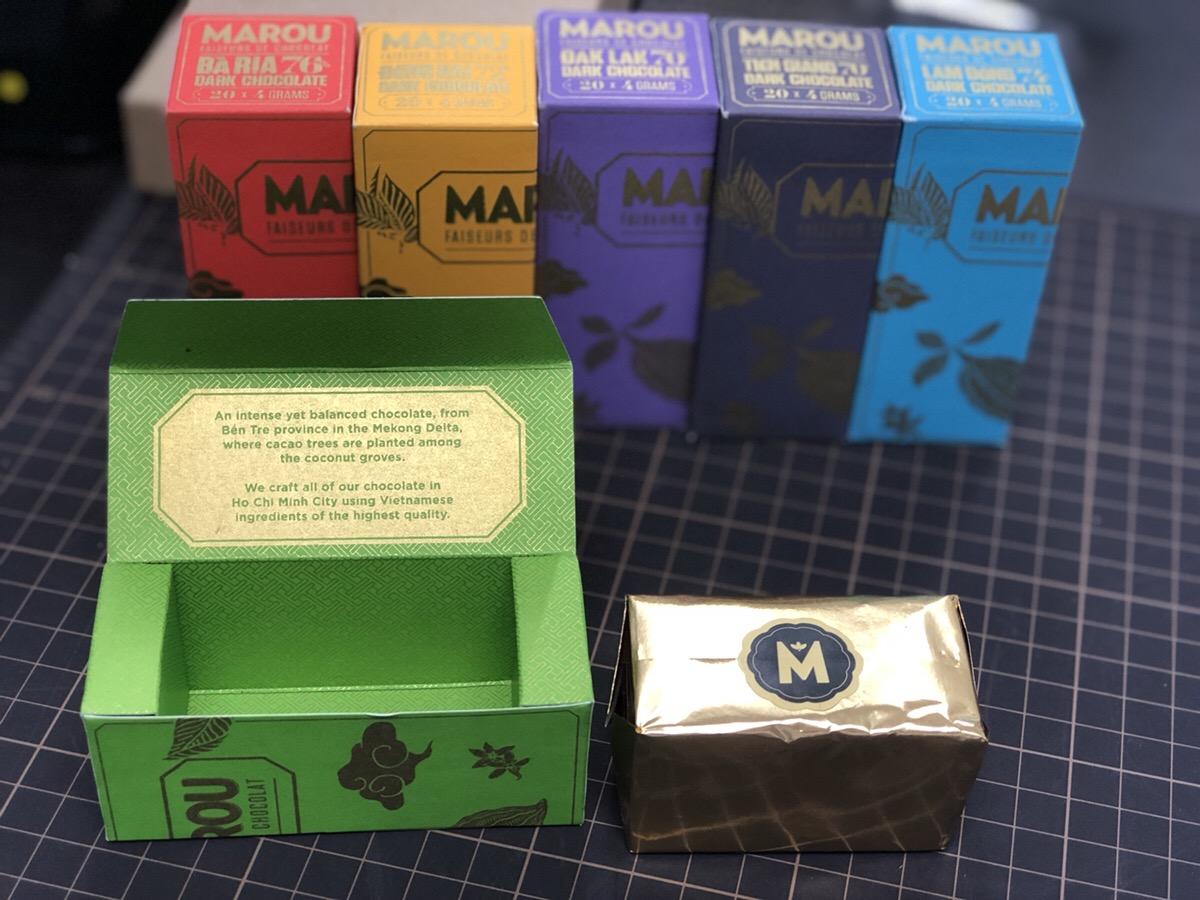 ベトナムで人気「MAROU」のチョコレート